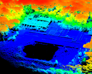 Point Cloud of Imperial Domitian Villa